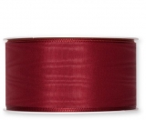 Moire-Band Weinrot 50 mm